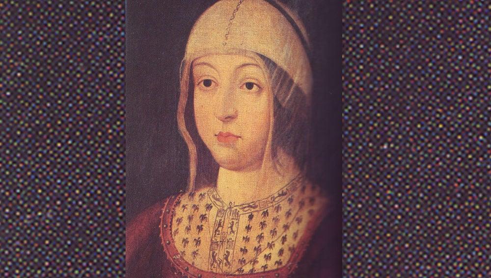 Retrato de la Reina Isabel La Católica