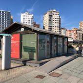 Oficina de turismo en La Escalerona (Gijón)