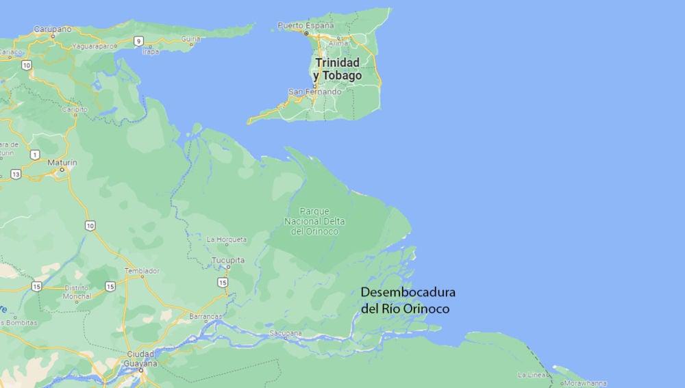 Desembocadura del Río Orinoco