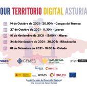 El `Tour Territorio Digital Asturias´ se pone en marcha en Cangas del Narcea