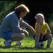Padres e hijos futbol