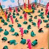 Alarma entre docentes: 'El juego del Calamar' llega a los recreos de los niños