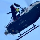 La Guardia Civil rescata a un barranquista accidentado en la Garganta de la Hoz de Villanueva de la Vera
