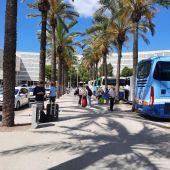 Llegada de turistas al aeropuerto de Palma