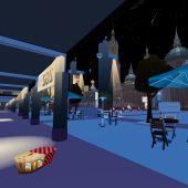 Plaza del Pilar virtual