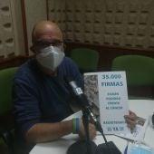 El presidente de la Federación de Vecinos, Pepe Polo, en los estudios de Onda Cero