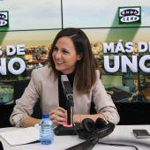 Ione Belarra, en Más de uno, con Carlos Alsina