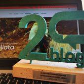Blog Mallata, mejor blog en la categoría blogosfera verde