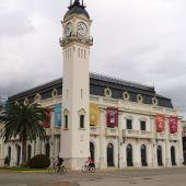 edificio reloj