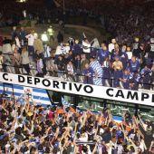 Deportivo, campeón de Liga