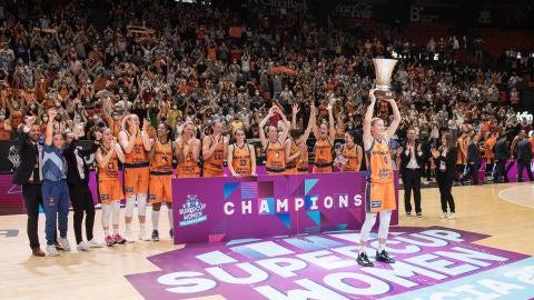 Valencia Basket Supercampeonas de Europa