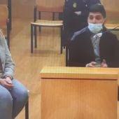 El acusado durante su declaración en al Audiencia de Ciudad Real