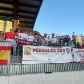 Cerca de un centenar de aficionados albaceteños se desplazaron a Cornellá