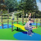 """O parque de Reza contará cunha zona deportiva de adestramento de calistenia """"street workout"""""""