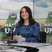 Inés Arrimadas, presidenta de Ciudadanos, en 'Más de uno' con Carlos Alsina