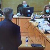 Los forenses durante su declaración en el juicio