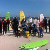 Surf inclusivo en Somo