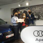 Natividad Cid Borrajo, gañadora do sorteo do desconto de 6.000 euros do 12º Salón do Automóbil